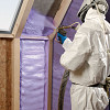 Spray foam insulation Cdpweb161(CC BY-SA 3.0  or GFD)/Wikimedia Commons