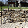 Dry stone walling as front yard fence/courtesy John Bland Stonecraft