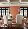 Cavern Clay dining roomr/courtesy Sherwin-Williams
