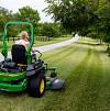 How to mow stripes in your lawn/courtesy John Deere