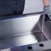 Drop-in sink installation/courtesy Elkay