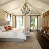 Bedroom coffered ceiling from Pexels