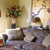 The wealth corner of my living room. --Ann Bingley Gallops/Open Spaces Feng Shui