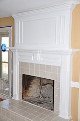 fireplace mantels made by finish carpenters