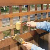 staining fence image