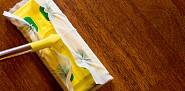 Photoof a Swiffer type wet mop by slobo/istockphoto.com