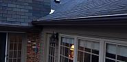 Roof repair of valley between house and sunroom
