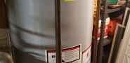 Brand new water heater install