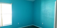 Bedroom painting - aqua