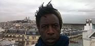 Williams on his Paris roof