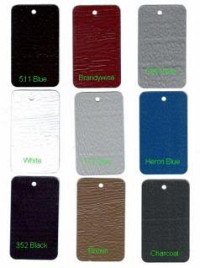 Aluminum siding colors