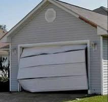 Is Your Garage Door Doing This? Call Us At Capital City Garage Doors Austin.