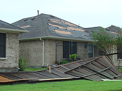 Country Place roof damage