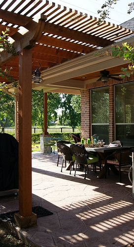 Pergola Built In Sienna Plantation Greater Houston Area