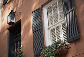 Savannah-style shutters