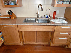 Photo: Wheelchair-accessible sink by  Joffre Essley/flickr