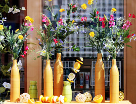 Summer flowers and produce abound right around summer solstice. (Photo: Morguefile.com)