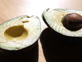 Avocados have so many uses, from facial cleanser to pie filling. (Photo by s.e. smith for Networx.)