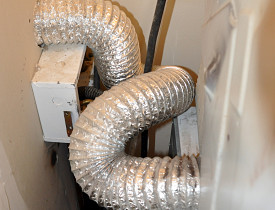 Don't do this unless you want a clogged dryer vent. Photo by the author.