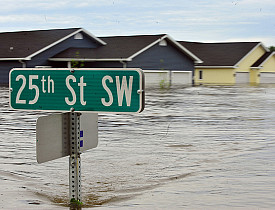 Flooding in Minot, ND. (Photo: dvidshub/Flickr)