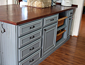 Five Diy Recycled Kitchen Countertop Ideas Networx