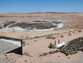 The Borax boron mine in Boron, CA. Photo by craigdietrich/Flickr.