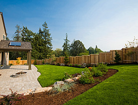 A stone patio replaces a deck. (ChuckCollier/istockphoto.com)