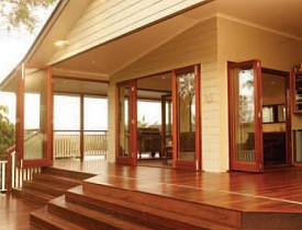 These New Doors Let You Enter The Outdoors Without Leaving Your Living  Room. Installing Folding Patio ...