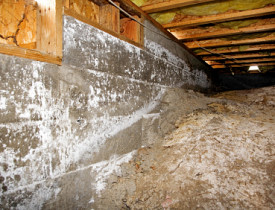 How to insulate a crawl space networx however it is more complicated than other energy saving projects such as blowing loose fill insulation solutioingenieria Choice Image