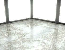 Make A Dramatic Flooring Statement By Staining Drab Gray Concrete Because S Natural Color Is Neutral And The Material Porous Can