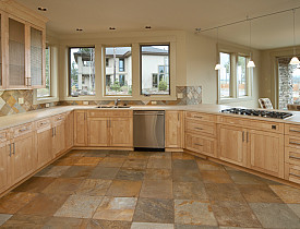 when it comes to kitchen floor tile we are pretty lucky with the selection that is available natural stone options include granite marble and slate - Kitchen Floor Tile Patterns