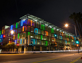 This parking structure in Santa Monica is LEED Certified. (Photo: Schlusselbein2007/Flickr)