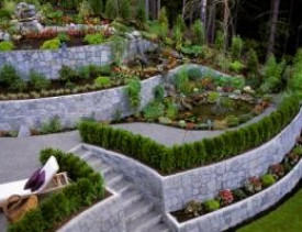 How To Build A Retaining Wall On Slope Networx
