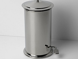Etoile Round Waste Can from Waterworks costs $3154. Huzzah.