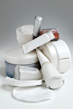 used cosmetics
