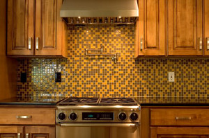 Tile backsplash design