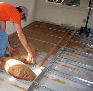 sand barrier termite prevention
