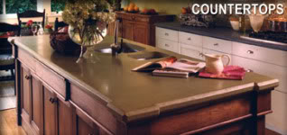 countertop concrete