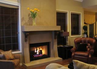 Fireplace Surround  Concrete