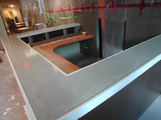 Poured On Site Concrete Countertops Are Also Known As Cast In Place This Process Is If The Contractor Brings To You