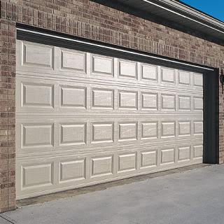 Beautiful Raised Panel Garage Door