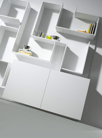 Vita Wall Unit Storage By Mdf Italia