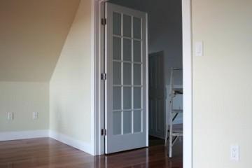 New interior door