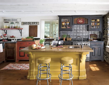 American country kitchen