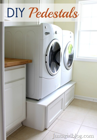 Five diy laundry room storage ideas networx via just a girl solutioingenieria Gallery