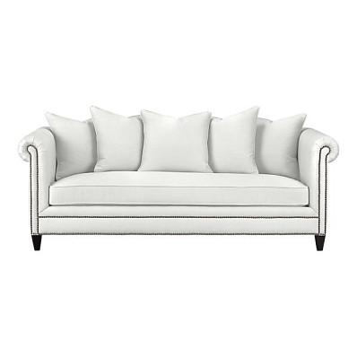 The Tailor Sofa by Crate & Barrel (via Crateandbarrel.com) has hemp upholstery fabric.