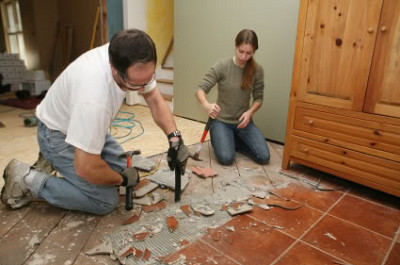 tile tear out