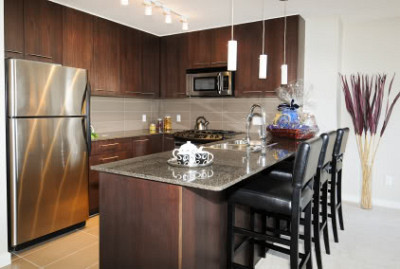 U-shaped kitchen