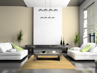 Elegant Living Room Features