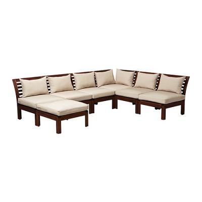The Applaro Outdoor Sectional (via Ikea.com)